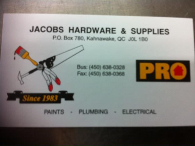 Jacobs Hardware & Supplies